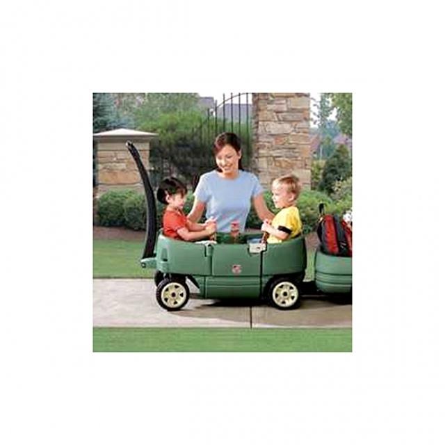 (스텝2 이인용웨곤(Green))붕붕카 푸시카 승용완구 장난감 수입완구 자동차